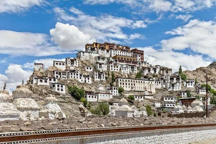 India Thiksey Gompa