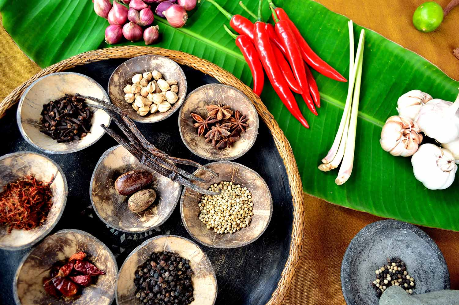 Indonesia spices